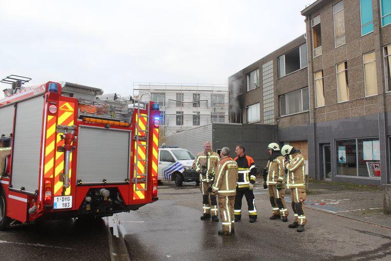 Brandweerpost Beringen kreeg de vlammen snel onder controle