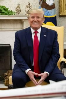 Trump bij begroeting Rutte: We zijn vrienden geworden