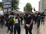 Sfeer slaat om na afbreken Black Lives Matter-protest in Rotterdam