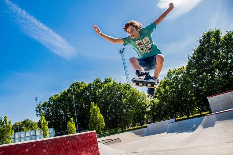 Het Zeelse skatepark is terug open onder toezicht.