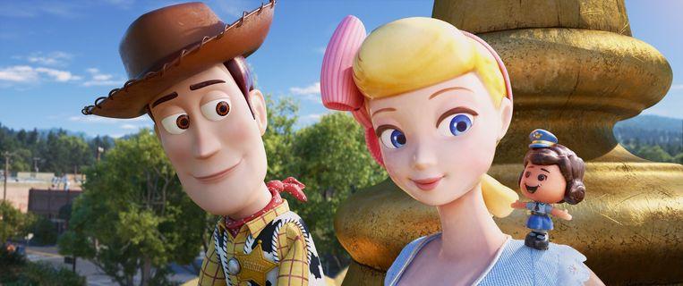 Woody en Bo Peep. Beeld null
