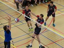 Volleyballers van Scylla eindigen met winst in Landgraaf