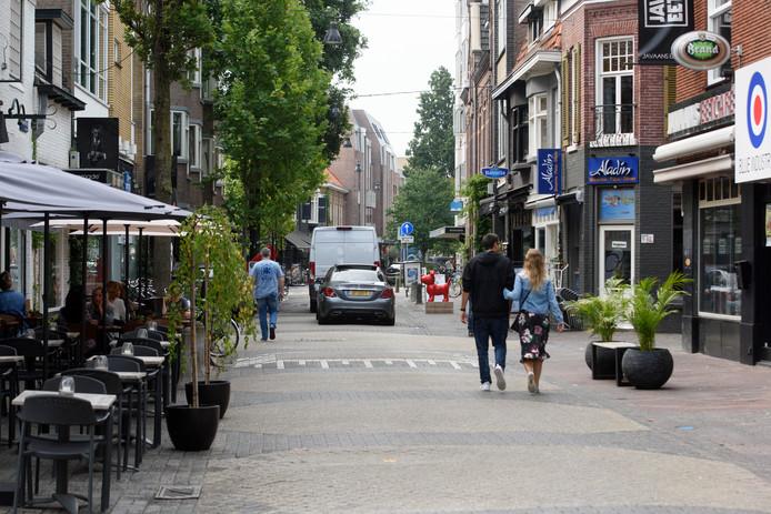 Ondernemers op de Kleine Berg willen graag aanhaken bij de plannen voor het centrum van de stad.