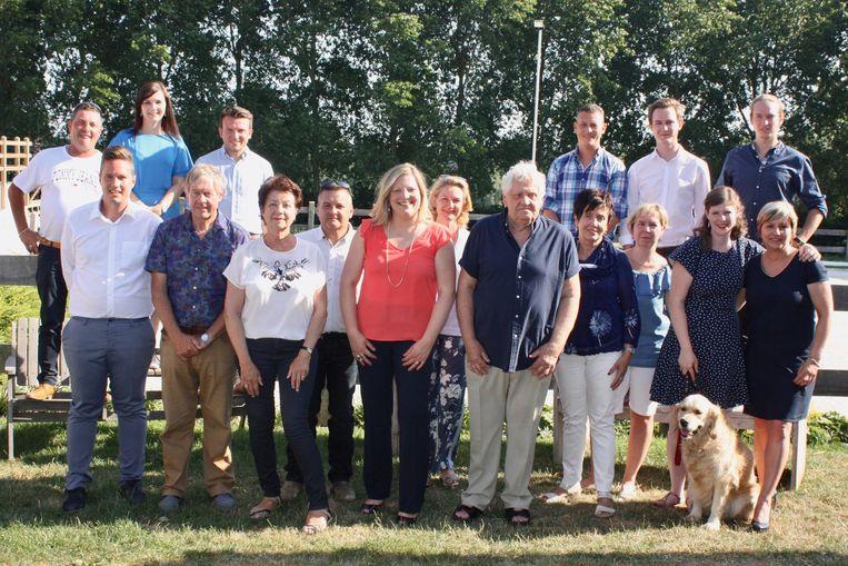 Met deze ploeg trekt Open Vld naar de gemeenteraadsverkiezingen.