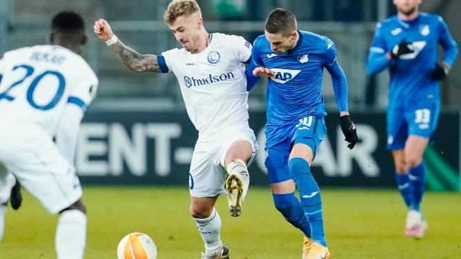 """Dorsch na nieuwe nederlaag AA Gent: """"We deden alles verkeerd"""""""