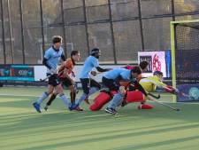 Hockeyers Oranje-Rood verliezen belangrijke slag van HGC