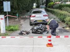 Scooterrijder zwaargewond bij aanrijding tussen Urk en Tollebeek: traumahelikopter biedt hulp
