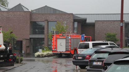 Brandweer rukt uit voor vreemde geur bij KBC