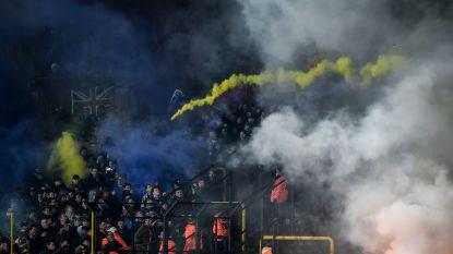 N-VA wil vuurwerk en voetzoekers rond voetbalstadions strafbaar maken