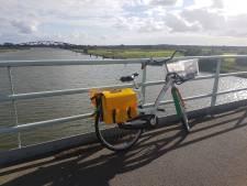 Vrouw die fiets achterliet op IJsselbrug tussen Hattem en Zwolle meldt zich
