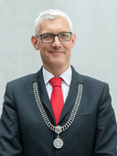 Marco Out, burgemeester van Assen.