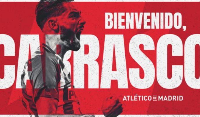 Yannick Carrasco est de retour à Madrid