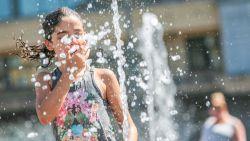 Hitte houdt aan: maandag tot 35°C