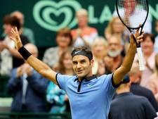 Magistrale Federer wint voor negende keer in Halle