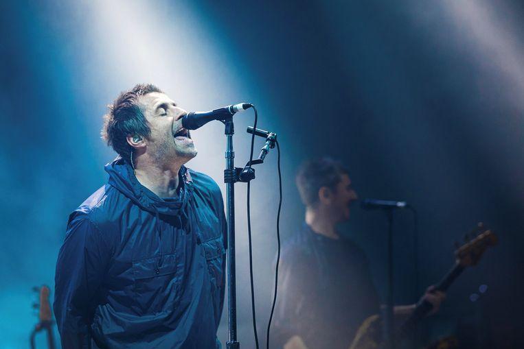 De Britse zanger Liam Gallagher. Beeld EPA