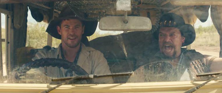 Dan toch geen vierde 'Crocodile Dundee', trailer blijkt reclamespot.