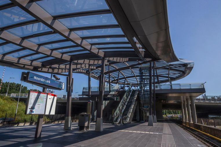 Noorderpark, reizigers per dag: 33.000. Beeld Rink Hof