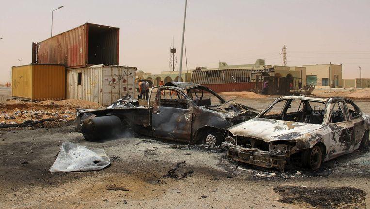 In Libië vindt een machtsstrijd plaats tussen twee regeringen. Beeld reuters