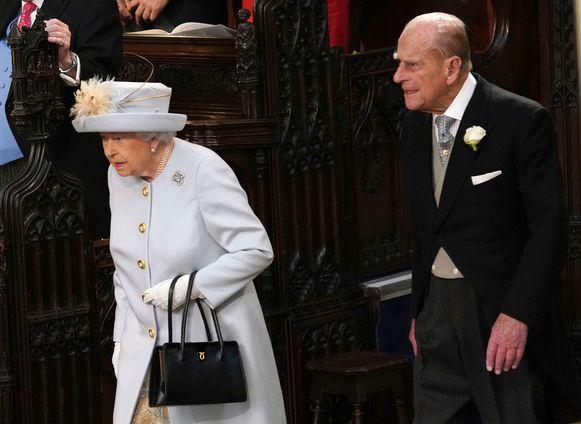 Queen Elizabeth en haar man prins Philip