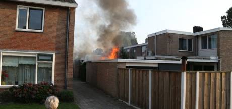 Brand in schuur in Losser snel onder controle