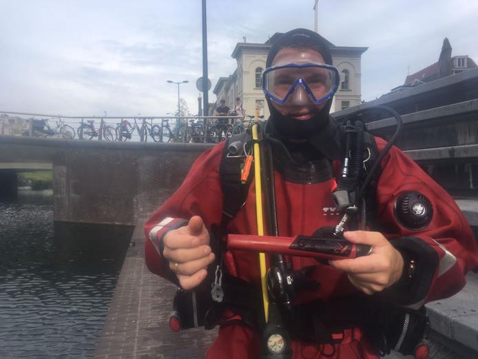 Een van de duikers.