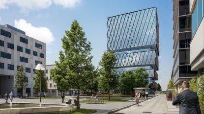 Accent Business Park wil uitbreiden: kantoortoren van 57 meter en parking voor 493 auto's erbij