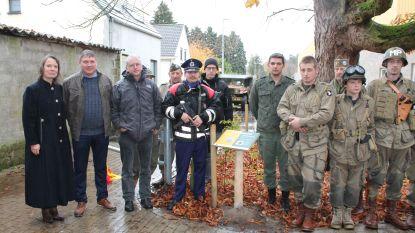 Zoersel huldigt pad in voor gesneuvelde soldaat Jozef Hens
