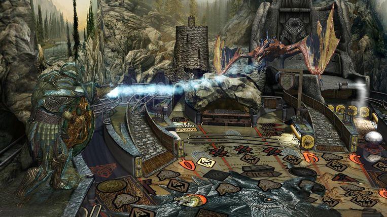 The Elder Scrolls: Flipper. Beeld Zen Studios