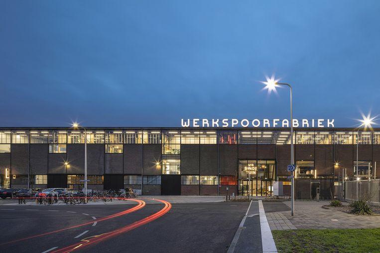 Werkspoorfabriek, Utrecht. Architect: Zecc architecten. Opdrachtgever: Overvecht Vastgoed. Beeld Stijn Poelstra