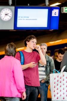 Treinreiziger in Den Haag kampte niet vaak met storing