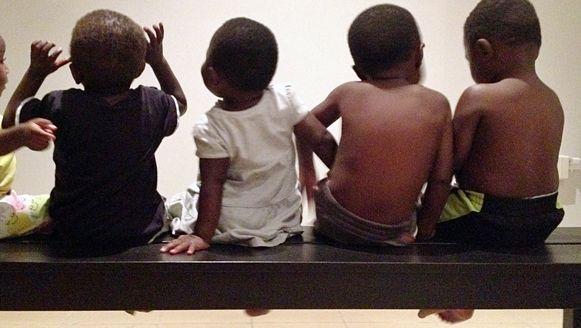 Adoptiekinderen in Kinshasa