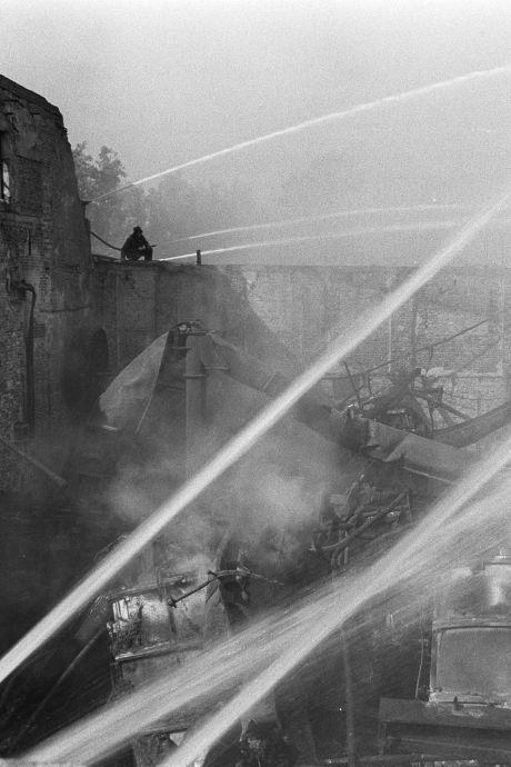 1973, het jaar van de gigantische brand in Oudewater: 'Stinkie Brinkie' in vuur en vlam