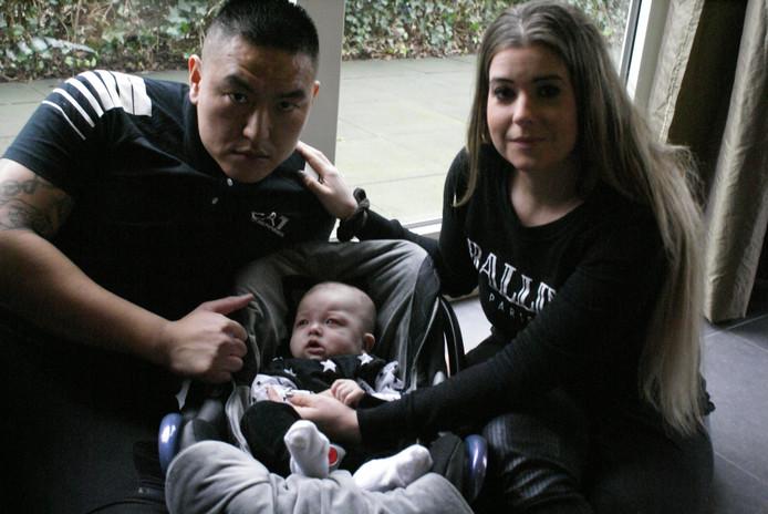 Lieveke de Kort begon een crowdfundactie om haar blinde zoontje te helpen.