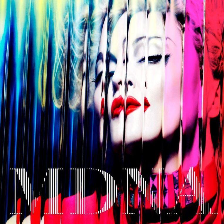 Albumcover MDNA. Beeld