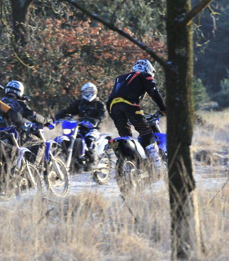 Breda treedt op tegen illegaal motorcrossen in bossen