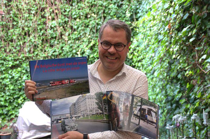 Fotograaf Didier Lemaire presenteert zijn fotoboek 'De Belgische kust met de tram'.