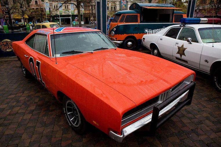 Op het evenement 'Cars en Coasters' waren bekende filmwagens te bewonderen, zoals de General Lee uit Dukes of Hazard (een Dodge Charger) en het busje The Mystery Machine uit Scooby Doo.