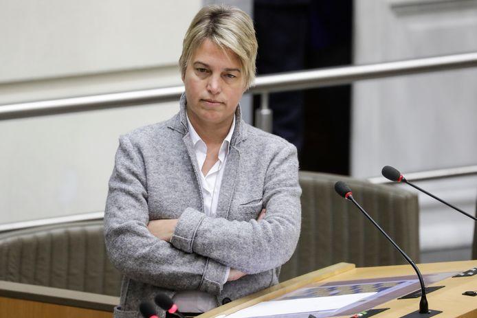 Vlaams minister van Leefmilieu Joke Schauvliege (CD&V) ziet een complot achter de klimaatbetogingen.