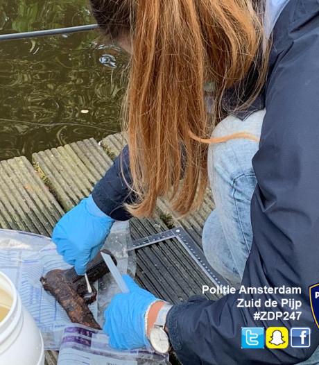 Jonge magneetvissers vinden vuurwapen
