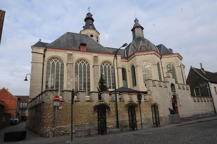 Ook de Troostbasiliek in de Leuvensestraat krijgt extra bewaking.