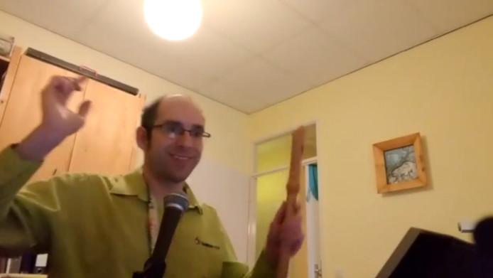 Uitsnede uit video van Samen Top.