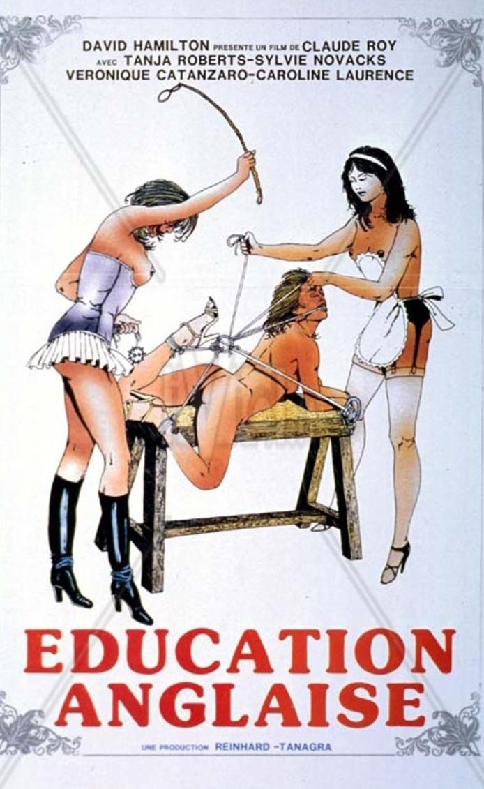 Het erotische aanbod zoals Education Anglaise