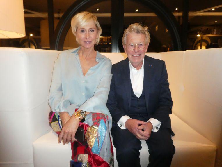 Jubilaris Jan des Bouvrie en zijn vrouw Monique: