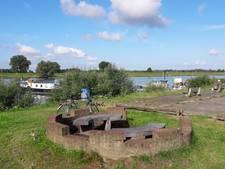 Tijdelijke plekje voor jongeren bij de haven in Rhenen