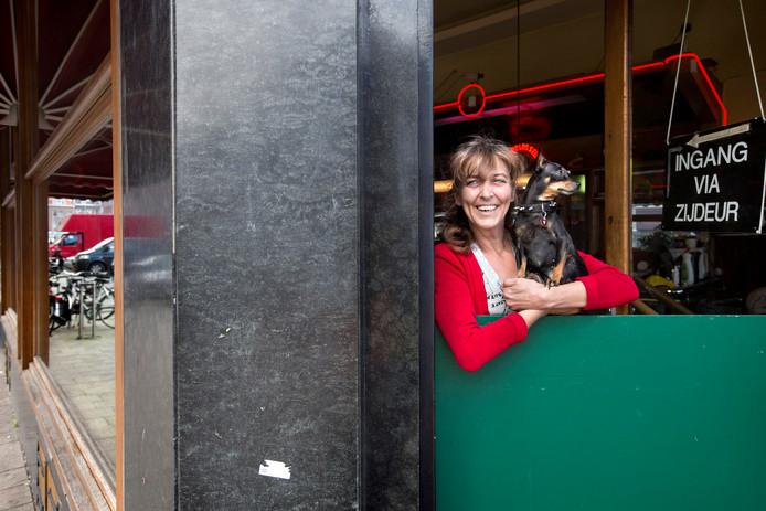 Myranda Bruin is uitbaatster van coffeeshop 1-2-3.