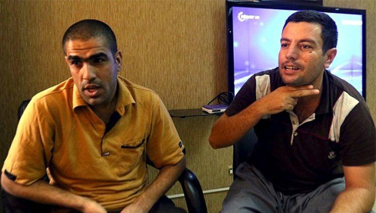 Ahmed Mahmoud Mustafa en Mohammed Abd Ahmed Beeld reuters