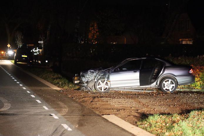 Veel schade bij het ongeval nabij Lunteren