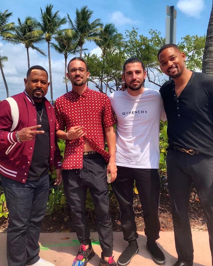 Dimitri Vegas en Like Mike samen met Will Smith en Martin Lawrence