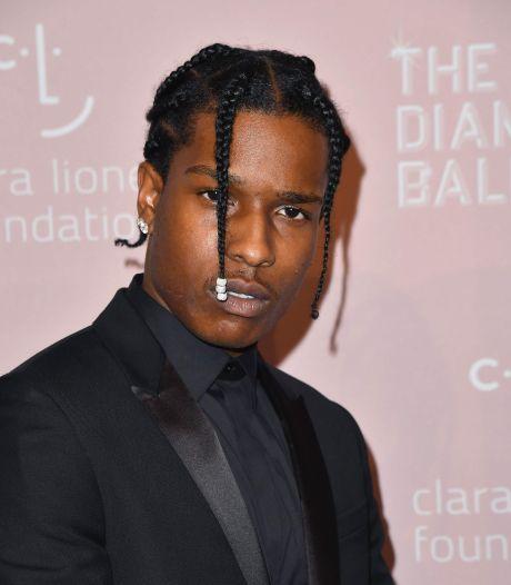 A$AP Rocky over vechtpartij: Ik was doodsbang