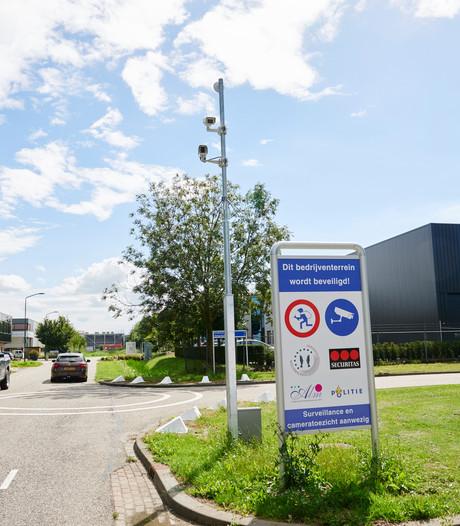 Hypermoderne camera's in strijd tegen inbraken op bedrijventerrein Rijen